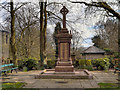 SD7833 : War Memorial, Padiham Memorial Park by David Dixon