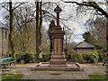SD7833 : War Memorial, Padiham Memorial Park by David Dixon