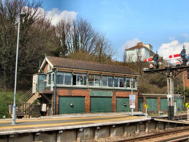 Hastings Station signal box