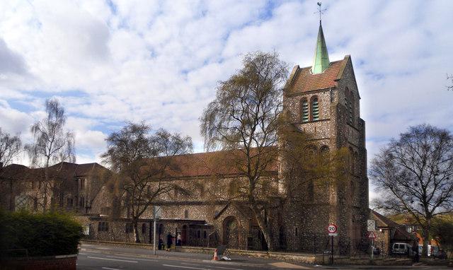 Greyfriars Church, Iffley Road, Oxford © Des Blenkinsopp cc-by-sa/2.0 ::  Geograph Britain and Ireland