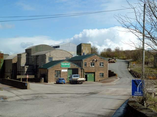 Glebe Mines at Cavendish Mill