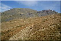 SH6443 : Moorland path below Moelwyn Bach by Bill Boaden