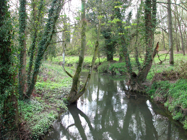 The River Waveney at Syleham