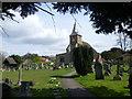 TQ3461 : All Saints Church, Sanderstead by Marathon