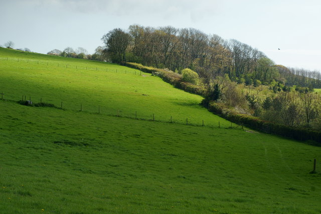 View From the Byway, Kern, Isle of Wight
