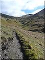NN2506 : The path up to the Bealach a' Mhaim by Gordon Brown