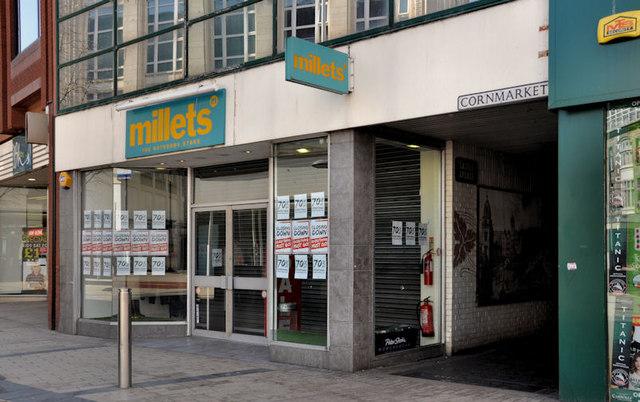 Millets, Belfast