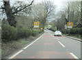 SJ5665 : A49 north entering Colebrook by John Firth