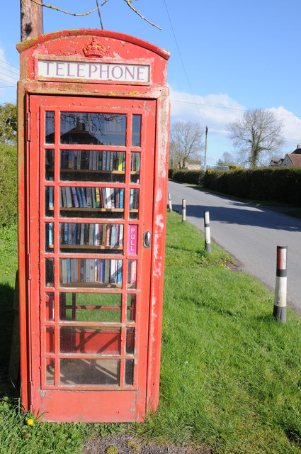 New use for a disused telephone box