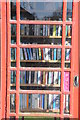 SO6902 : Telephone box used as a library by Philip Halling