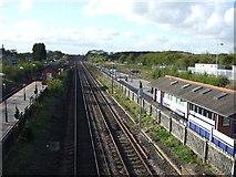 SE4081 : East Coast Main Line heading north at Thirsk Station by JThomas