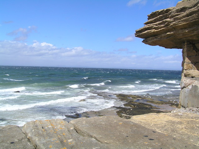 View from Burghead Harbour