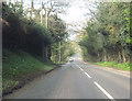 SJ5870 : A556 west approaching Overdale Lane junction by John Firth