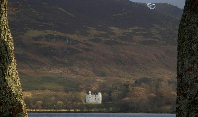 Castle across the loch