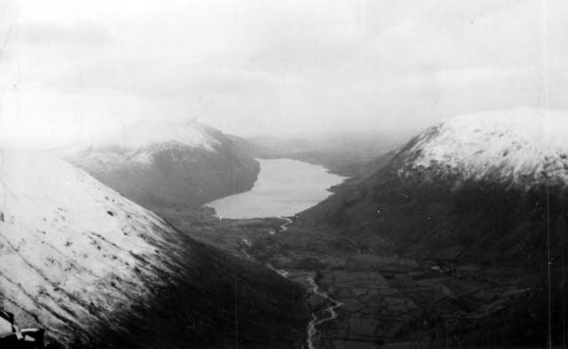 Wastwater from the north-east