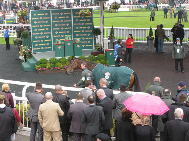 Winners enclosure at Aintree