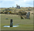 SX2571 : The Hurlers and old mine workings by Rob Farrow