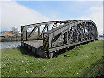 ST1974 : Compass Bridge, Port of Cardiff by Gareth James