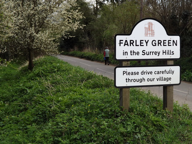 Farley Green in the Surrey Hills