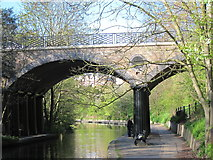 TQ2783 : Bridge over Regent's Canal by Oast House Archive