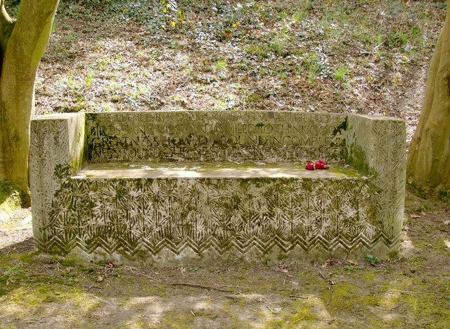 The Ismay plot, Putney Vale Cemetery: The little birds sang east and the little birds sang west