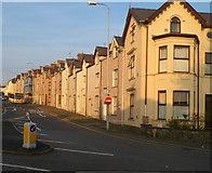 SH4862 : Constantine Terrace (Rhes Gwstenin)  houses, Caernarfon by Jaggery