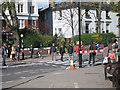 TQ2683 : Abbey Road crossing by Oast House Archive