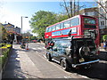 TQ2683 : Illegal parking by Abbey Road crossing by Oast House Archive