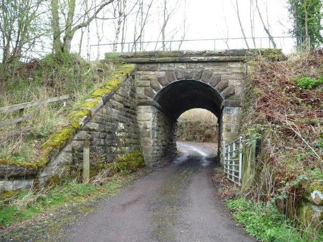 Railway bridge on the Derwent Walk