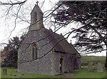 SU5073 : St Bartholomew Church by Stuart Logan