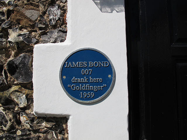 James Bond was here