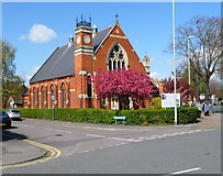 SO8317 : Side view of Gloucester Community Church, Gloucester by Jaggery