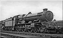 TQ2182 : 'King' in Yard of Old Oak Common Locomotive Depot by Ben Brooksbank