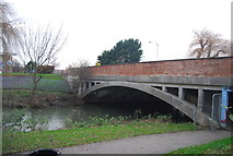 TR1558 : Bridge over the Great Stour by N Chadwick