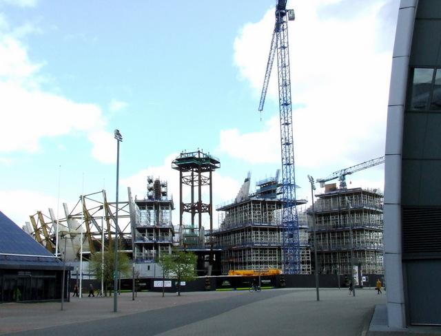 Scottish National Arena construction site
