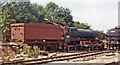 SK2960 : Ex-GWR 'Hall' 4-6-0 under restoration at Matlock, Peak Rail by Ben Brooksbank