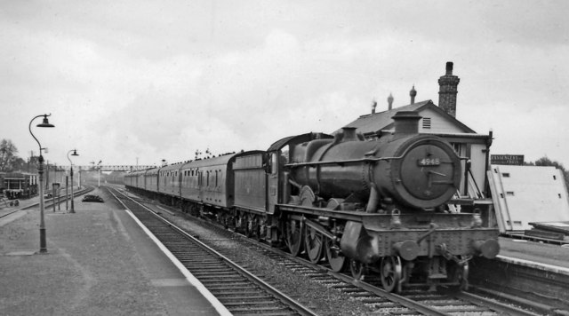 Portsmouth - Cardiff express passing Magor