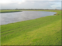 SK8166 : Bend in the Trent at North Holme by Trevor Rickard