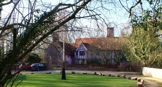 Monk's Hall near Syleham, Suffolk