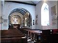 TQ4177 : St Luke's church: nave by Stephen Craven
