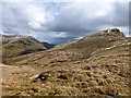 NN5324 : Approaching Meall an Fhiodhain (a top on the Meall an t-Seallaidh ridge) by Alan O'Dowd