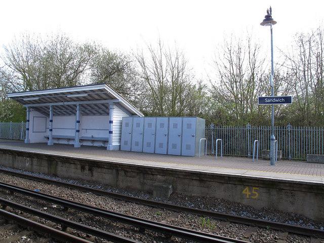 Historic railway shelter