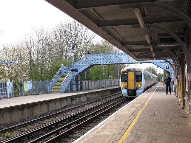 The London train at Sandwich