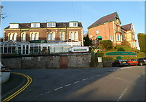 SH5873 : Eryl Mor Hotel, Bangor by Jaggery