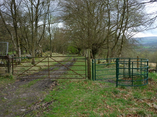 New Kissing Gate, Old Parish Road