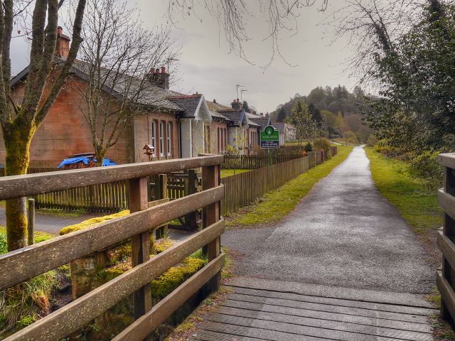 Cyclepath to Gartmore