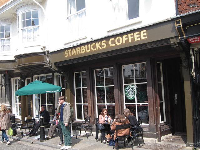 Starbucks Coffee, Burgate