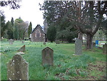 NY3916 : St. Patrick's Church and graveyard, Patterdale by David Brown