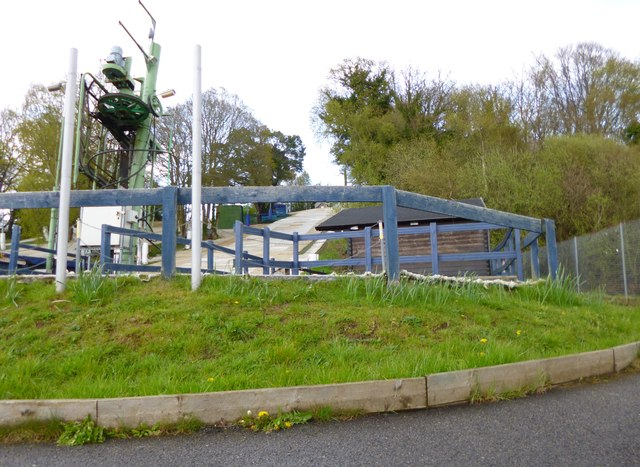 Southampton Sports Centre, ski-slope