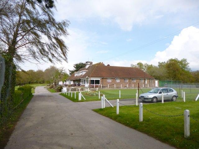 Bassett, golf clubhouse